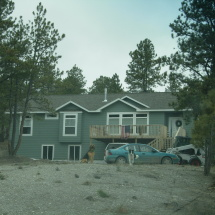 custom home in the black hills